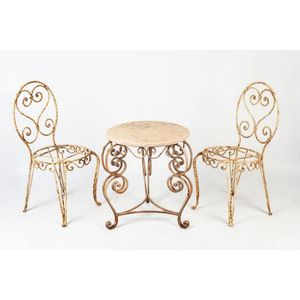 vintage wrought iron garden furniture