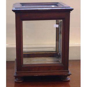 antique display bijouterie or vitrine