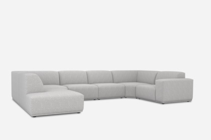 todd u shape sectional sofa with chaise