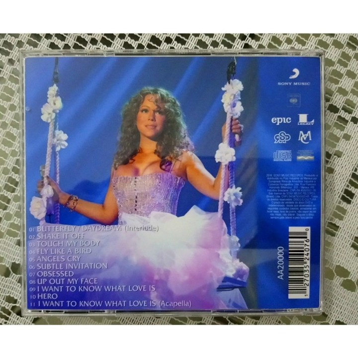 At The Pearl Palms Concert Theatre By Mariah Carey Cd With Omisso