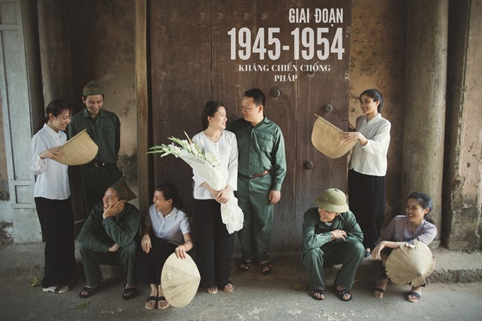 Tying the knot, vintage style, entertainment events, entertainment news, entertainment activities, what's on, Vietnam culture, Vietnam tradition, vn news, Vietnam beauty, news Vietnam, Vietnam news, Vietnam net news, vietnamnet news, vietnamnet bridge