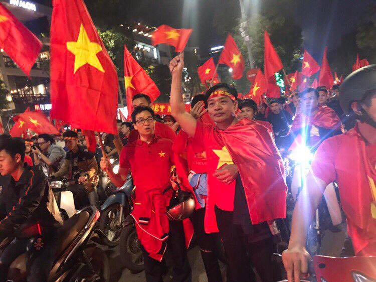 Image result for vietnamese celebrate U23""