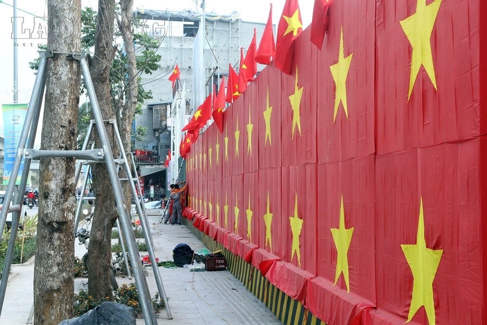 Hanoi turns red to cheer U23 team, social news, vietnamnet bridge, english news, Vietnam news, news Vietnam, vietnamnet news, Vietnam net news, Vietnam latest news, vn news, Vietnam breaking news
