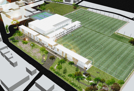 J1川崎 生田浄水場用地にスポーツ施設 「フロンタウン」整備