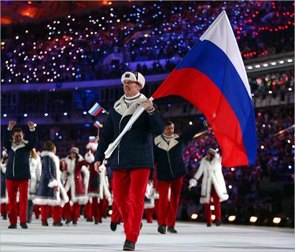 Лучшие фото церемонии открытия XXII зимних Олимпийских игр ...