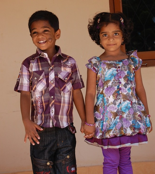 Nishanth & Nakshatra on their 3rd Birthday
