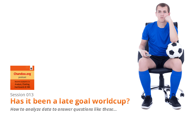 CP013 - Has it been a late goal worldcup? How to analyze data to answer questions like these...