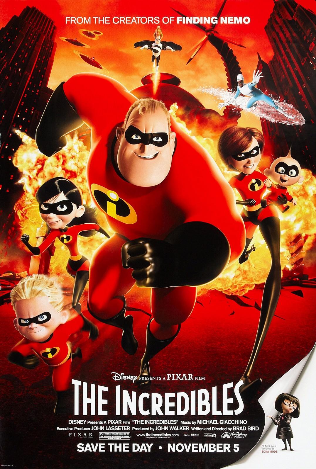 Movie, The Incredibles(美國, 2004) / 超人特攻隊(台) / 超人总动员(中) / 超人特工隊(港), 電影海報, 美國