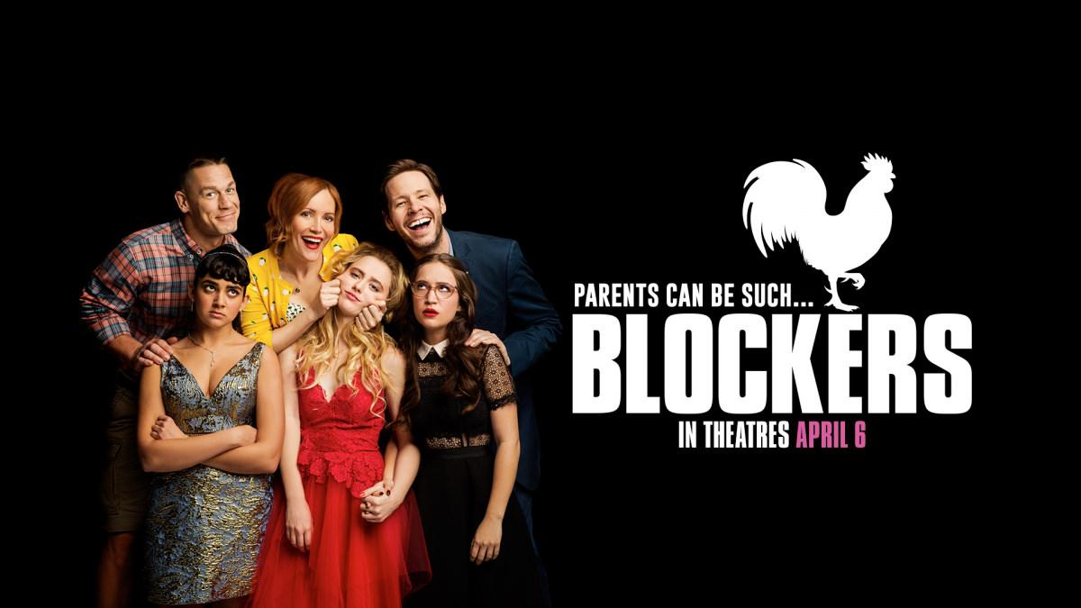 Movie, Blockers(美國) / 圍雞總動員(台) / 反啪啪同盟(港) / 护航父母(網), 電影海報, 美國, 橫版