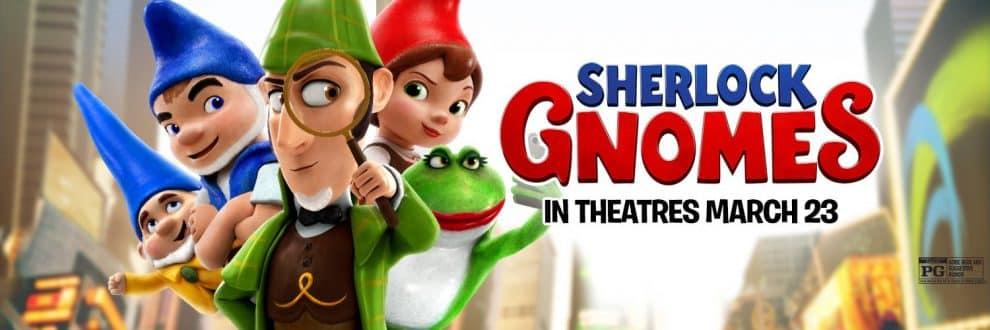 Movie, Sherlock Gnomes(英國.美國) / 糯爾摩斯(台) / 神探福爾摩侏(港) / 吉诺密欧与朱丽叶2:夏洛克·糯尔摩斯(網), 電影海報, 美國, 橫版