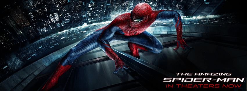 Movie, The Amazing Spider-Man(美國, 2012年) / 蜘蛛人:驚奇再起(台灣) / 超凡蜘蛛侠(中國) / 蜘蛛俠:驚世現新(香港), 電影海報, 美國, 橫版
