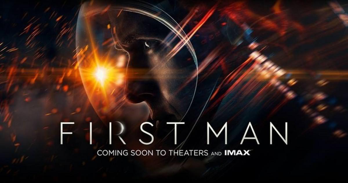 Movie, First Man(美國, 2018年) / 登月先鋒(台灣) / 登月第一人(中國.香港), 電影海報, 美國, 橫版