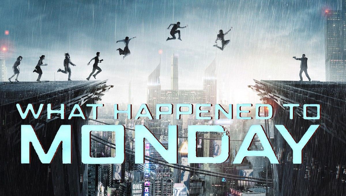 Movie, What Happened to Monday(英國, 2017年) / 獵殺星期一(台灣.香港), 電影海報, 橫版