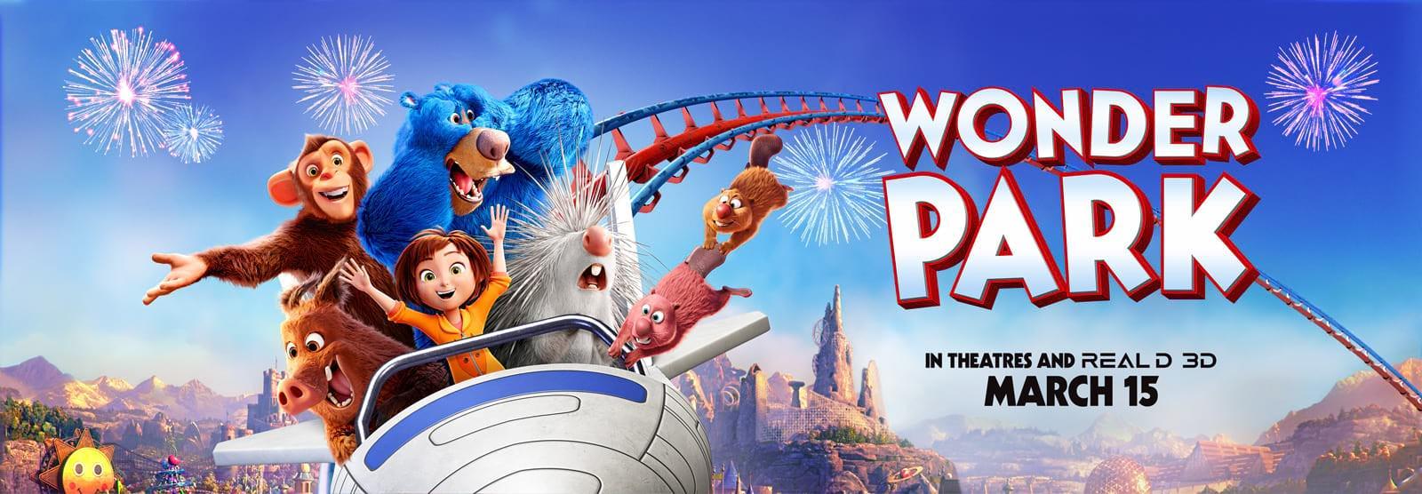 Movie, Wonder Park(美國, 2019年) / 奇幻遊樂園(台灣) / 神奇乐园历险记(中國) / 神奇夢樂園(香港), 電影海報, 美國, 橫版