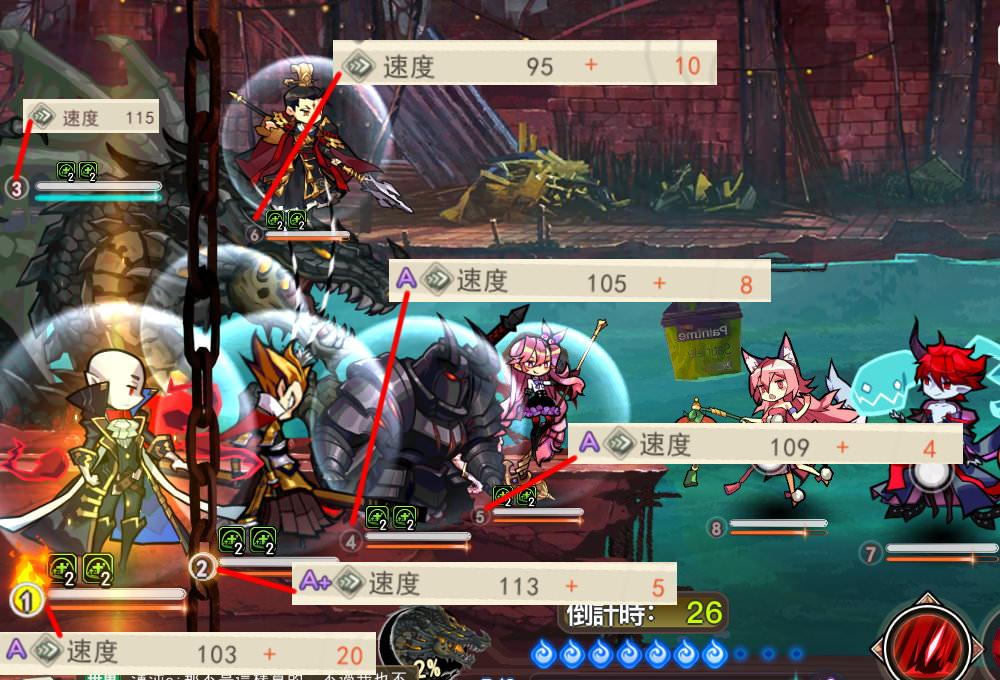手機遊戲, 閻王不高興, 戰鬥, 速度