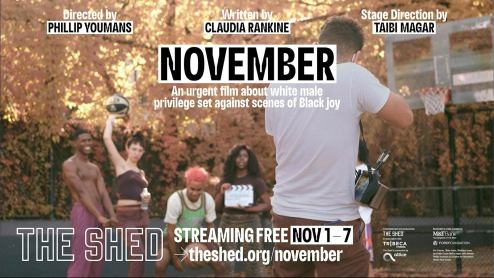 The Shed's new film 'November' explores race, gender inequality