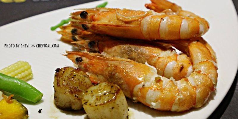 台中大里│Five Ounces 5盎司小富豪鐵板燒*多種新鮮食材可選擇。調味清爽不油膩