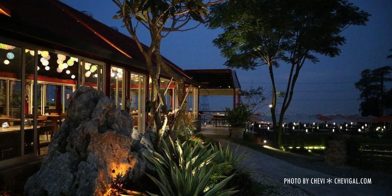 台中龍井│不夜天夜景餐廳*不用出國也能感受南洋風情。特色柴燒窯烤披薩別錯過