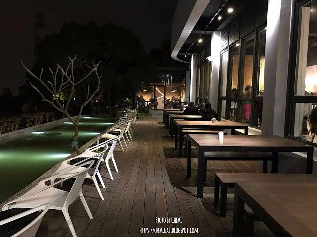台中龍井│綠朵休閒農場 Green Door Garden*親水設計好放鬆。看夜景也能吃到真材實料的美味