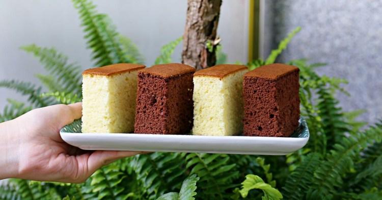 根本超低調!隱身普通民宅的福久長崎蛋糕,清爽少糖冰過口感大不同!