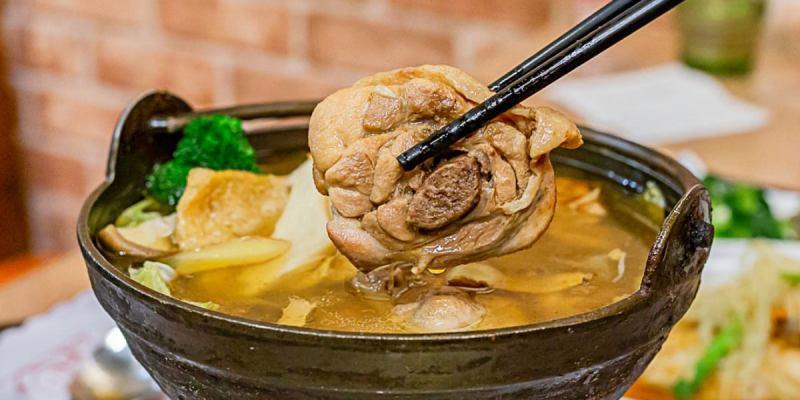 麻油雞鍋有著滿滿雞腿肉!上海灘租界地用料實在,用餐時段簡直一位難求!