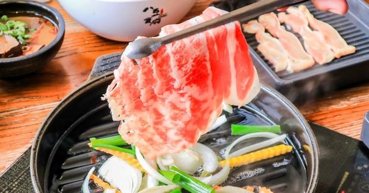 台中吃到飽推薦,八豆食府壽喜燒專門店,肉品、蔬菜、飲品、UCC咖啡、冰淇淋讓你吃爽爽