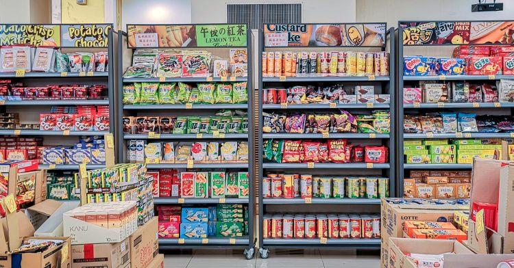 888異國零食共和國又來到台中啦!只剩4天,超過百種日韓零食讓你們挑不完!