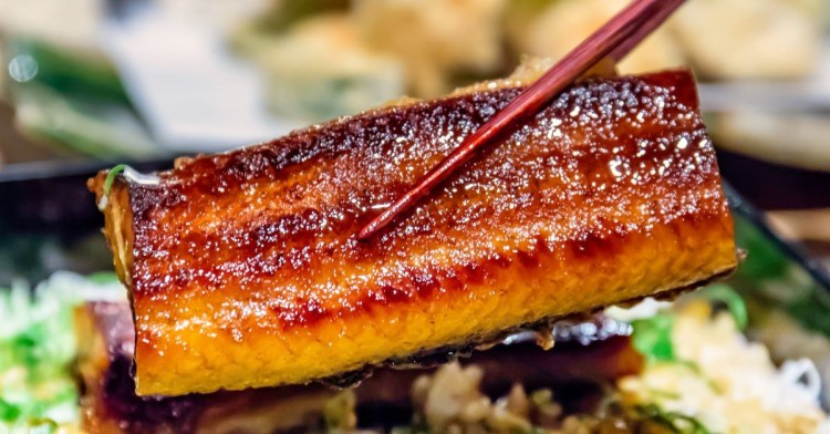 真月新日本料理,閃閃發光的鰻魚飯滑嫩細緻大滿足!單點、套餐、無菜單料理好彈性