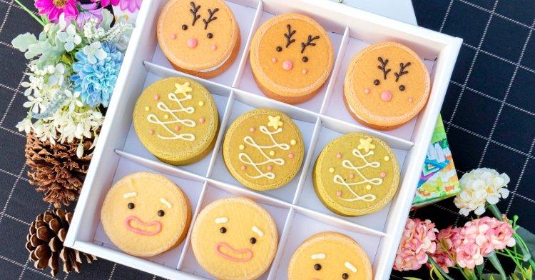 台中熱門團購甜點,聖誕派對生乳銅鑼燒限定新推出!還有送禮最夯的烏日酥餅~
