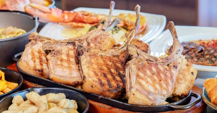 快找隔壁老王來吃飯!超狂戰斧豬排霸氣登場,還有大份量餐點與飲料無限喝到飽!