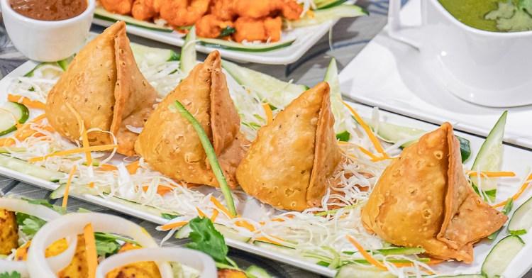 斯里印度餐廳│台中印度料理推薦,超過百種道地菜色,大推黃金餃,還有沒預定吃不到的香料特味飯