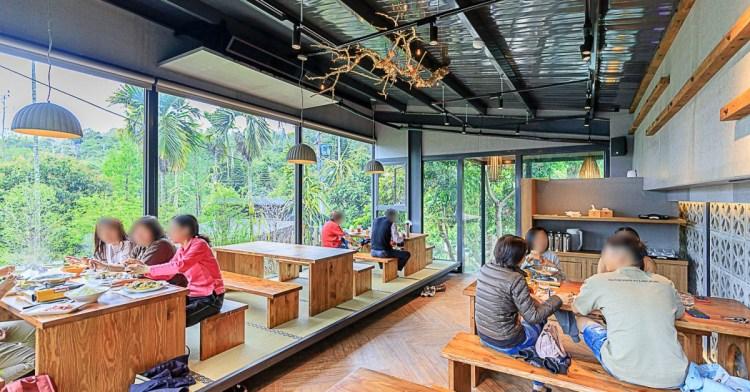 鹿寮享自在,台中景觀餐廳推薦,超美玻璃屋結合餐點、下午茶與民宿,還有落羽松水森林步道