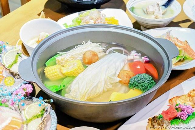 20200418223330 3 - 熱血採訪│海大蛤味噌湯,整碗的用料非常大方!台中當月壽星鮭魚三重奏免費吃!