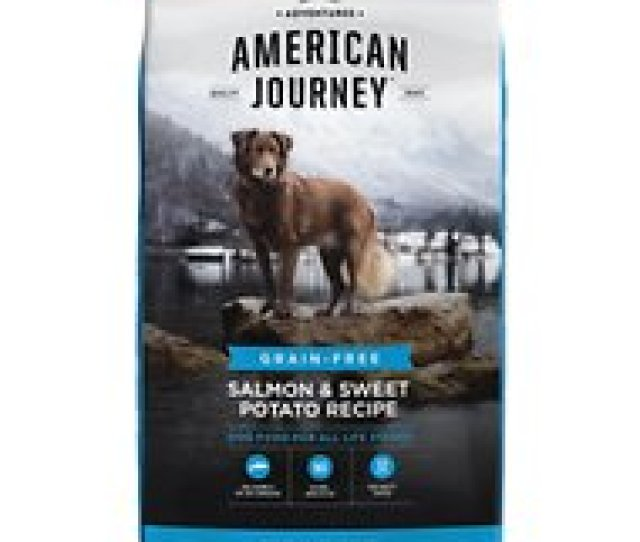 American Journey Salmon Sweet Potato Recipe Grain Free Dry Dog Food