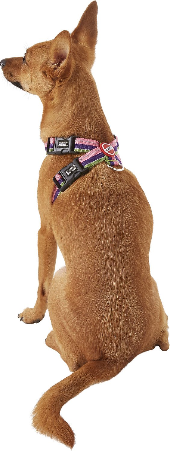 Ezydog Chest Plate Dog Harness Bubble Gum Small