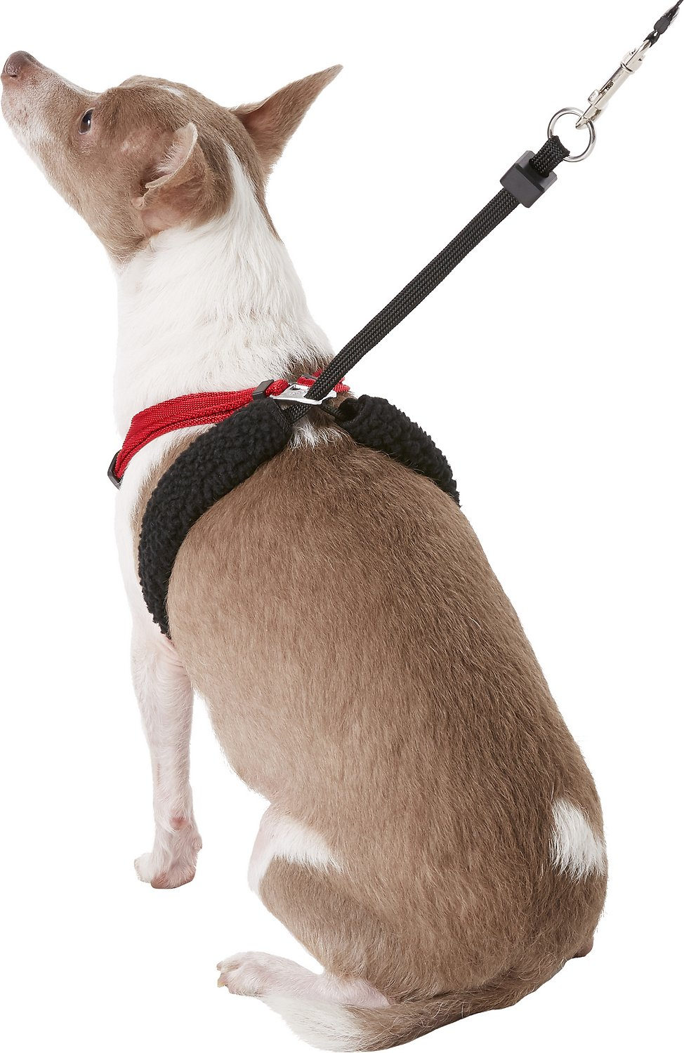 Snon Pull Mesh Dog Harness Red Small