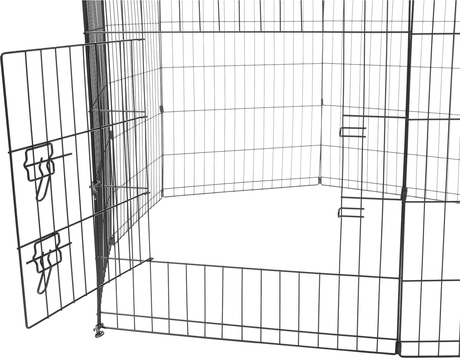 Paws Amp Pals Collapsible Wire Exercise Pen 30 In