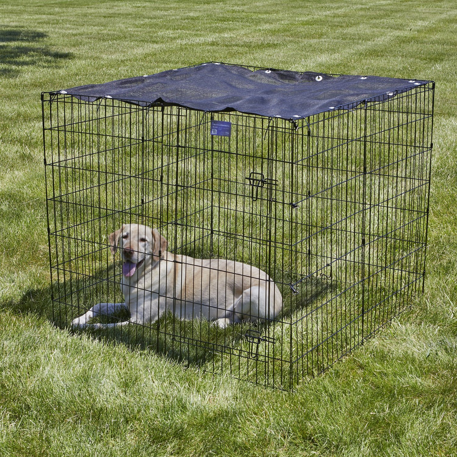 Midwest Exercise Pen Sunscreen Top Crate Sold Separately