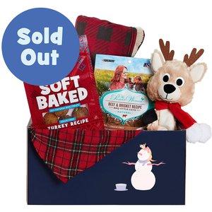 Goody Box Holiday Toys, Treats & Apparel for Small/Medium Dogs