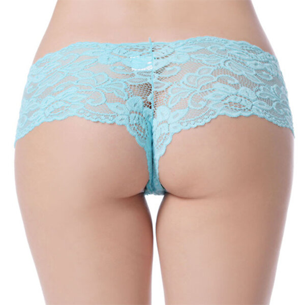 Sexy Plus Size Women Sexy See Through Panties Lace Low Rise Thongs Underwear Newchic