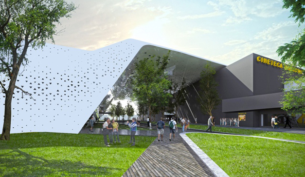 Mexico Ciudad Salas Arquitectura De De Cine La De De