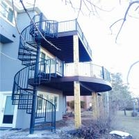 Spiral Staircase On Sale Spiral Staircase Primaconstruction | Used Spiral Staircase For Sale | Vertical | Exterior | Contemporary | Wrought Iron | Curved