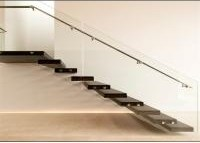 Wood Step Floating Steps Staircase Personalized Style For Public | Wood Steps For Sale | Yard | Temporary | Design | Travel Trailer | Camper