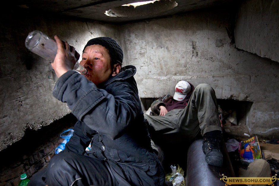 Mongolia 39 s homeless live underground in sewers to stay for Warm cheap places to live