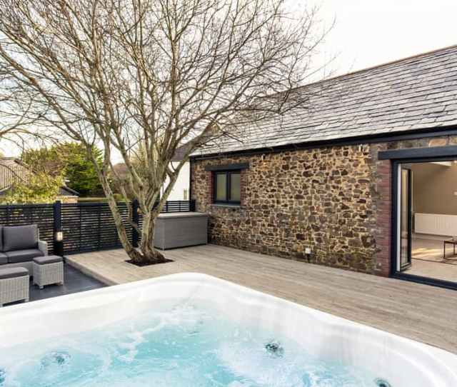 Bude Hot Tub Godolphin Stable Bude