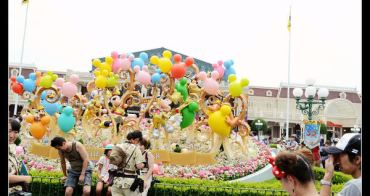 (日本千葉縣) 東京迪士尼樂園30週年 電車,夏季祭典,遊行慶祝活動
