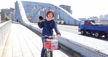 (日本東京都) 兩輪看東京,每個轉角都是驚喜 騎腳踏車與東京談戀愛的櫻花季節