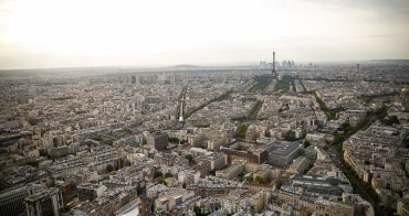 (巴黎Fun暑假) 輕鬆登上巴黎之頂俯瞰全巴黎夜景 Top of Paris @Ciel de Paris Montparnasse Tower