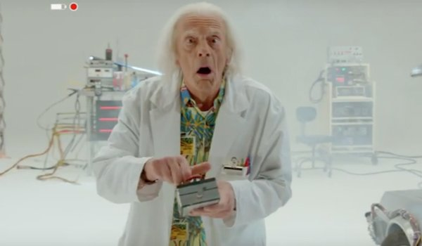 Watch Doc Brown Return In This Fantastic Back To The