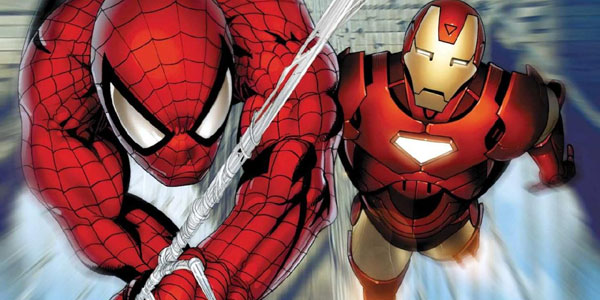 Image result for spiderman and iron man